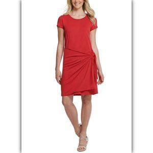 DKNY  Womens Jewel Neck Short Sleeves T-Shirt Drs